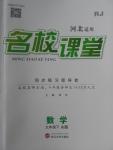2018年名校课堂滚动学习法九年级数学下册人教版A版河北适用武汉大学出版社