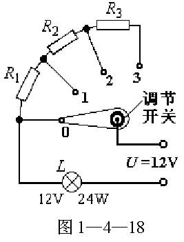 在初三级物理综合实践活动中.小明自制了亮度可调节的小台灯.