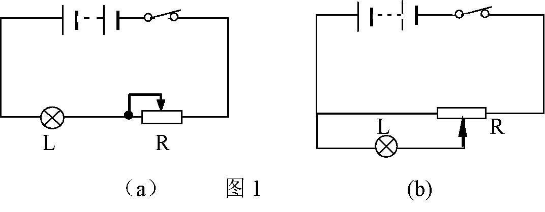 滑动变阻器的阻值变化范围是0-1000欧,请你分析图所示两个电路的台灯