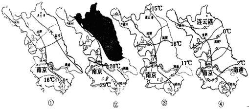7.该省部分城市与其自然植被.气候类型的组合