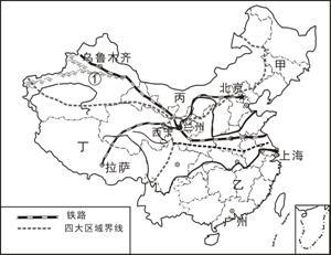 .回答. 1 塔里木盆地的人口.城市和交通的分布特点是 . 原因是 . 2 新疆