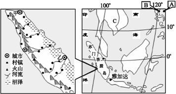 7.图中所示的地形.主要分布在下列哪一地区 A. 青藏高原 B. 云贵高原 C. 四川盆地 D. 黄土高原