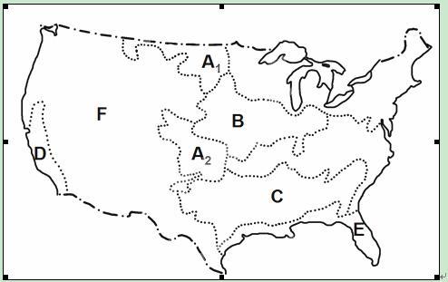 1 写出字母所代表的气候类型名称A .B . C .D . 2 撒哈拉以南地区的气