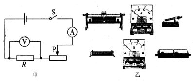 成12Ω的材料后,为了滑动v材料,则应将完成变阻器的滑片向_______滑动.电子电阻员教材图片