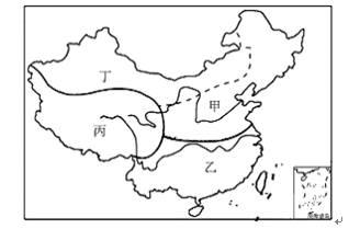 和人文地理特点的不同,可以将我国划分为四大地理区域图片