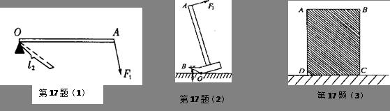(1)一小球沿光滑半圆形轨道由静止开始下滑,请准确画出小球到达的最高