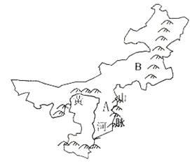 内蒙古高原最突出的生态问题是 A.水土流失 B.土地盐碱化 C.土地荒漠化 D.生物多样性减少