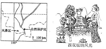 简要说明云南傣族竹楼如何体现当地自然环境的?