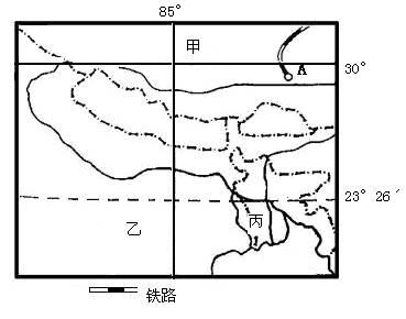 人口算术密度是一个国家总人口与总面积之比.人口生理密度是一个国家