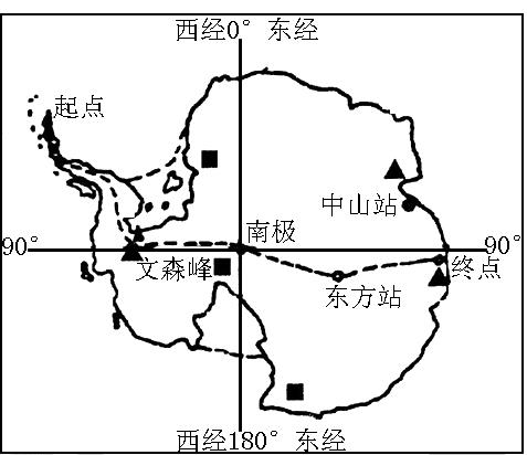 南极洲气候严寒最主要原因是
