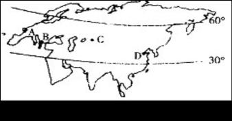 温带季风气候与温带海洋性气候共有的植被是