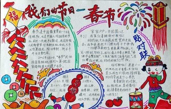 2015春节手抄报:春节吃饺子的来历