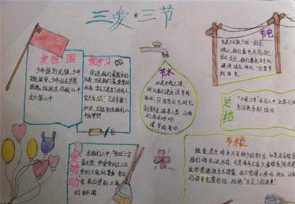 实用文档 学生天地 学习 手抄报 > 小学三爱三节手抄报资料