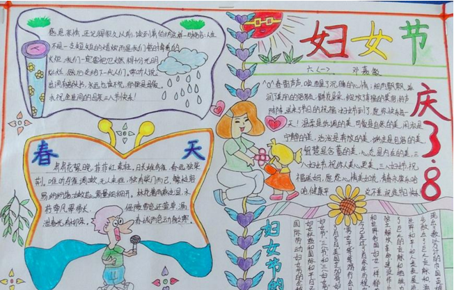 【妇女节手抄报内容:女性高管如何修养】