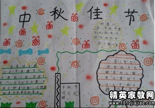中秋节黑板报文字内容