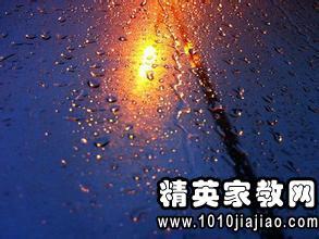 描写大雨的优美句子