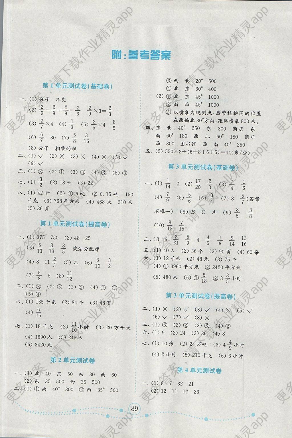 2017舞蹈小学人教数学试卷六上册年级年金版钥匙经典小学生图片