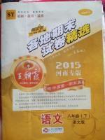 2016年王朝霞各地期末试卷精选八年级语文下册语文版河南专版答案