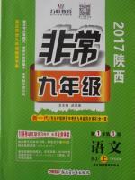 2017年万唯教育非常九年级语文人教版陕西专版答案