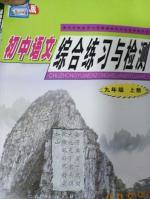2017年初中语文综合练习与检测九年级上册长春版答案