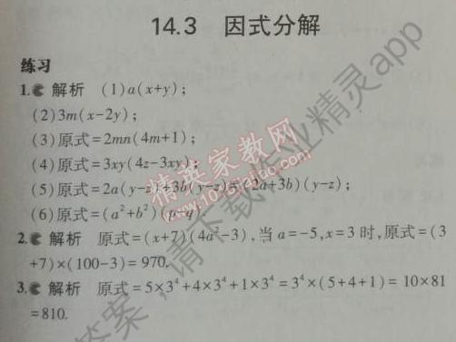 课本人教版八年级数学上册答案图片