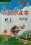 2018年长江作业本同步练习册六年级语文下册人教版