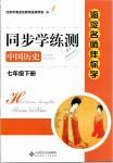 2019年海淀名师伴你学同步学练测七年级中国历史下册人教版