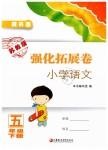 2019年强化拓展卷小学语文五年级下册提升版苏教版提升版
