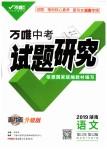 2019年万唯教育中考试题研究九年级语文湖南专版