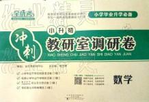 2019年小升初教研室调研卷数学
