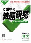 2019年万唯教育中考试题研究语文江西专版