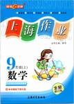 2019年上海作业九年级数学上册沪教版