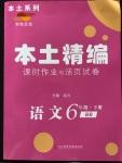 2020年本土精编六年级语文下册人教版