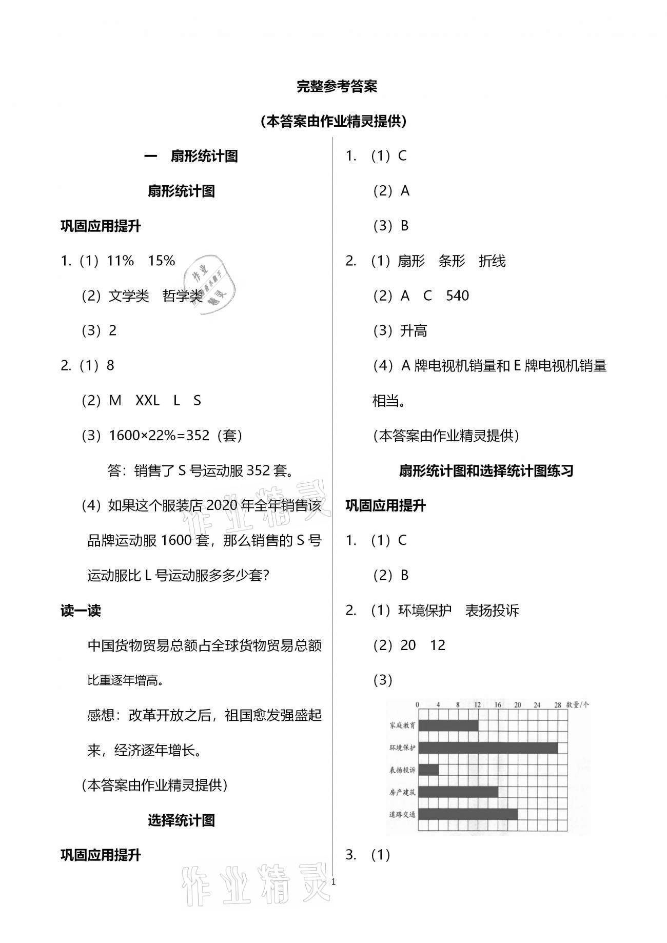 2021年練習與測試六年級數學下冊蘇教版第1頁