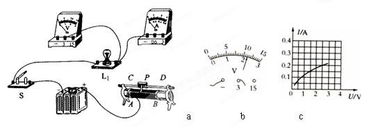 初中物理 题目详情  (1)连接电路时开关应 _______ .