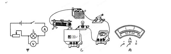 在测定小灯泡的额定功率(额定电压为2.5v)的实验中