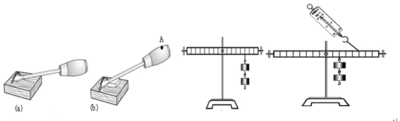 """小明和小华""""探究杠杆平衡的条件"""",他们的研究过程如下"""