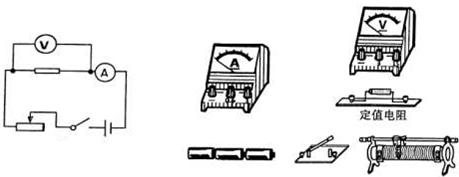 """图甲是""""探究电压一定时电流与电阻关系""""的电路图."""