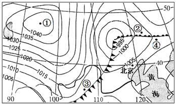 读 亚洲季风示意图 .完成下列问题. 1 A为 压. 2 B为 季风.C为 季风. 3 亚洲东部季风环流最为典型.其主要原因是A.亚洲的山区最高大 B.海陆热力性质差异明显