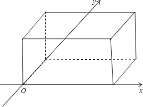 画法补画下面的图形.使之成为长方体的直观图 虚线表示被遮住的线图片