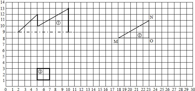 只有方和圆的动物简笔画(剪纸)_轴对称图形_轴对称图形画法