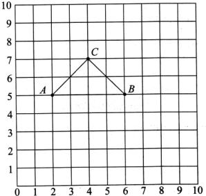 填一填.画一画.(1)用数对标出图中三角形图纸顶toto546三个图片