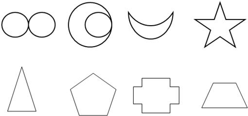 分析 一个图形沿一条直线对折,直线两旁的部分能够完全重合,那么这个图形就是轴对称图形,这条直线就是这个图形的对称轴.根据轴对称图形的定义,找出并画出轴对称图形的对称轴即可. 解答 解:  点评 此题考查了根据轴对称图形定义画出轴对称图形的对称轴的方法.