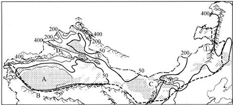 手绘内蒙古风景图片