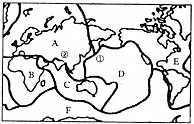 非洲手绘地形简图