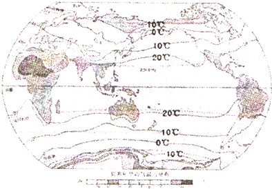 海陆分布对气温影响大;而南半球海洋面积较广,地表性质单一.