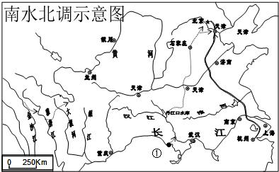 该工程主要是把长江水系的水资源调到缺水严重的华北地区和西北地区.
