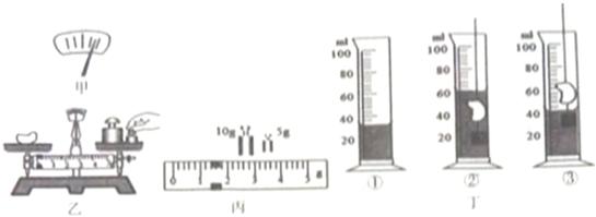 (2)用调好的天平测量该物块的质量时,操作情景如图乙所示,错误之处是