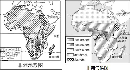 四大洲中.分布着世界最大的沙漠是( )A.①B.②C.③D.④