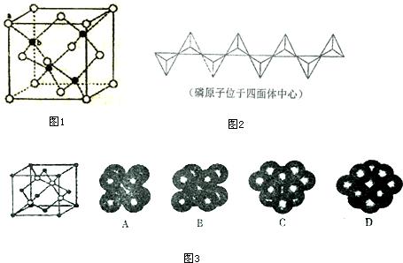 某直链多磷酸钠的阴离子呈如图2所示的无限单链状结构,其中磷氧四面体